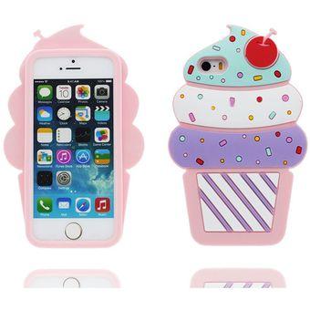 b88fe85d7ed Agotado Funda Suave De Gel 3D Helados Silicona Carcasa Para Apple IPhone SE  / 5S / 5