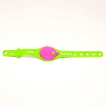 92823747a78e Pulsera de seguridad infantil My Buddy Tag Monitor para bebés, herramienta  de apoyo en el cuidado de tus hijos Mod. Silicon Verde