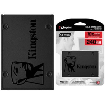 Unidad Estado Solido SSD 240GB Kingston A400 SA400S37 240G-Gris 0f9077851d3