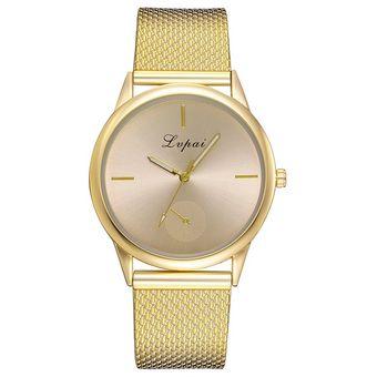 99a7d2c245fa Compra Reloj de cuarzo de moda casual para mujer LVPAI P660 Dorado ...