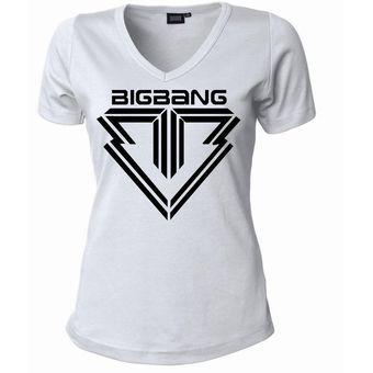 Compra Camisetas Estampadas Para Mujer Big Bang Kpop Corea online ... 5cc34e4f3ac71