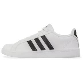 Tenis Adidas CF Advantage Clean - AW4287 - Blanco - Mujer 066ef5c55dc22
