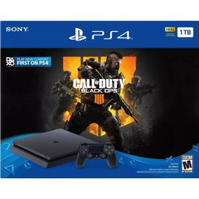 38c08a094d0 PlayStation 4 Slim 1TB + Call Of Duty Black OPS 4 Bundle PS4