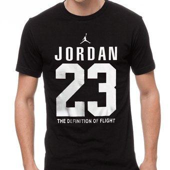 Ser Almacén Cámara  Camiseta Jordan 23 Negra | Linio Colombia - GE063FA1GEEYHLCO