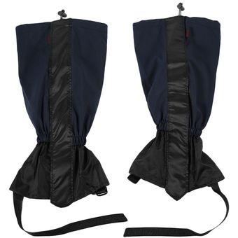 EB Polainas Impermeables Guantes De Esquí Más Larga Sección De 44cm-Azul  Marino 245497e138d