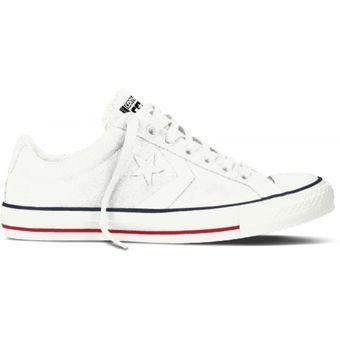 zapatillas converse hombre blanco