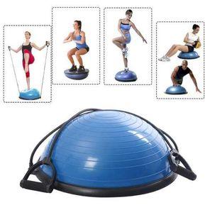 Pilates Yoga Tipo Pelota Bosu 65 cm Equilibrio Bomba Manual b2cc2252cfcf