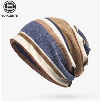 Compra Sombreros Para Unisex- Capo Casual De Moda Casual De Rayas ... e1b84112ee1