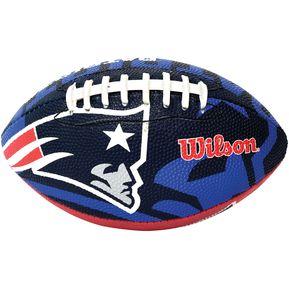 Balón NFL Logos Mini Futbol Americano Patriots Hule Wilson f6ab8297b45