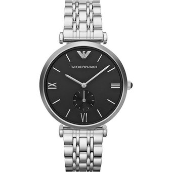 b9c30c1b6612 Compra Reloj Emporio Armani AR1676 -Plateado Negro online