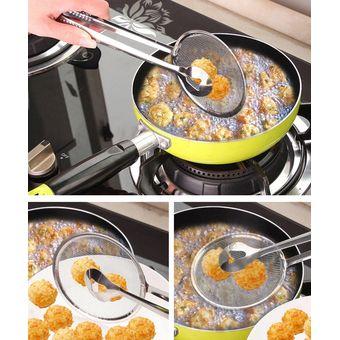 Clip alimentario multifuncional-Plata accesorios de cocina