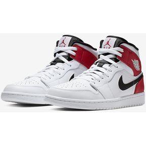 50056075 Novedades Zapatillas Retro Air Jordan 1 Mid CHICAGO para hombre 554724-116