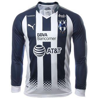 ab99c38e36977 Agotado Jersey Playera Puma de Rayados de Monterrey Manga larga de Lcoal