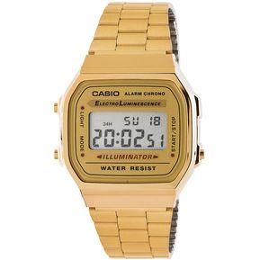5523cb7523ab Reloj Casio A 168WG Dorado Para Mujer