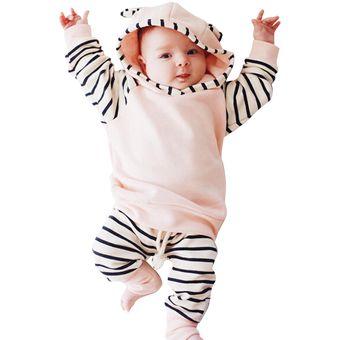 ba0dfdd1796f3 Ropa De Bebé Streak Patrón Niños De Algodón De Una Sola Pieza De Bebé De  Manga
