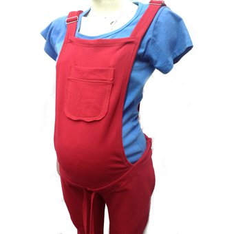 58aa70e8e Compra Overol De Maternidad Fresh Terry Rojo online