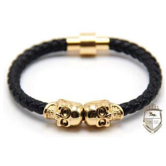 828e1a401 Compra Reloj Calavera Mad Skull Black And Gold Steel Mx online ...