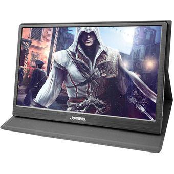 JOHNWILL hdmi monitor lcd ips 11,6/13,3/15,6 pulgadas Slim Full HD 1080 P/2 K