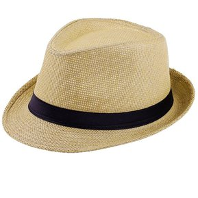 Chicos Chicas Chicos sombrero para el solveranoColor sólido de paja de  Panamá Cafe 6eb133baf18