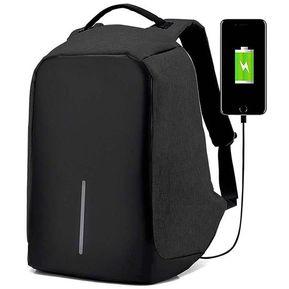 Redlemon Mochila Backpack Antirrobo ContraAgua Laptop Tablet - Negro f1c7f8115317d