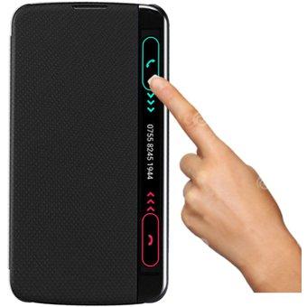 new york eb452 c0146 Lg K10 Flip Cover Smart Sensor Ventana Inteligente / Negro