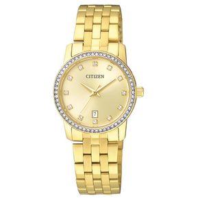 70cd958944ba Reloj Citizen EU6032-51P Ladies Watch Collection Análogo Con Calendario- Dorado