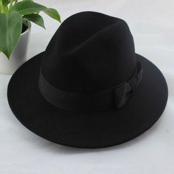 Precioso Color Sólido Del Bowknot Adornó El Sombrero Para Las Mujeres De  Colores Surtidos 146dcadfae1d