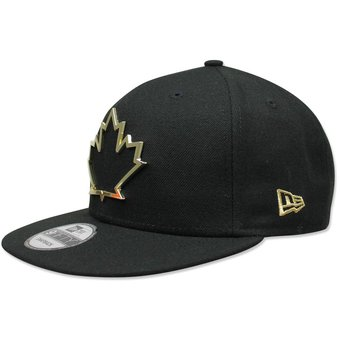 Compra Gorra New Era 950 MLB Blue Jays Metal Framed Negro online ... cac04b7462d