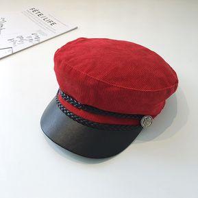 Señoras Sombrero Invierno Pato Lengua Boina Otoño Invierno Versión Coreana 551107cd0d6