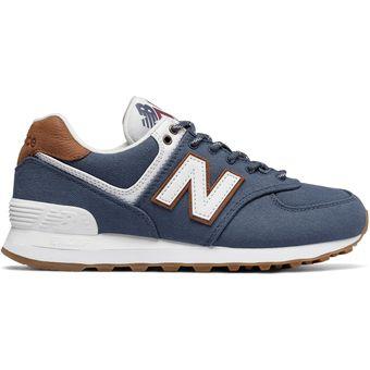 zapatillas new balance azul marino mujer