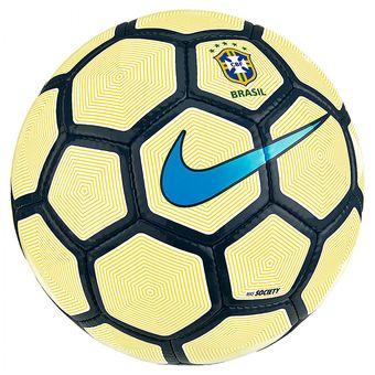 Compra Pelota De Fútbol Nike Society - CBF -Blanco Con Amarillo ... f801f51c3c32d