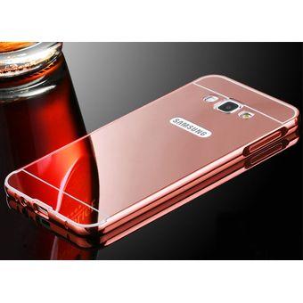 4a971fc1d07 Agotado Case Espejo De Lujo / Estuche / Protector Samsung Galaxy J7 2016 -  Rosado