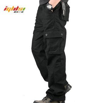 Pantalones Militares De Algodon Para Hombre Pantalones De Combate De Trabajo Informales Con 6 Bolsillos Pantalones De Camuflaje Militar Para Hombre Pantalones De Talla Grande 42 44 Cui Black Linio Peru Ge582sp0cmnjflpe