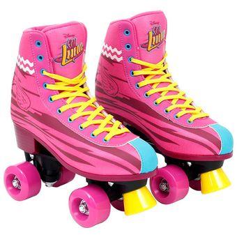 compra patines oficiales soy luna- rosa online | linio méxico