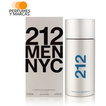 13beeb583c20d Compra Perfume 212 Men Carolina Herrera Para Hombre 200 Ml online ...