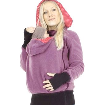 cbec03309 Casual Maternidad Kangaroo Multifuncional Hoodie Con Portador De Bebés Para  Las Mujeres
