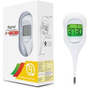 548b64249528 Termometro Digital 9 Segundos Multiposición Alarma De Color