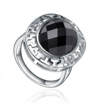 aa63c6b347ae Compra Anillo Vanité Black Stone Plata Italiana 925-Negro online ...