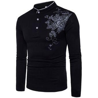 Compra Camisa Polo Camiseta Fashion-Cool Para Hombre-Negro online ... a9176cca32e34