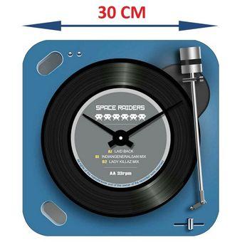 Reloj de Pared Tutti-Home Tornamesa color Azul