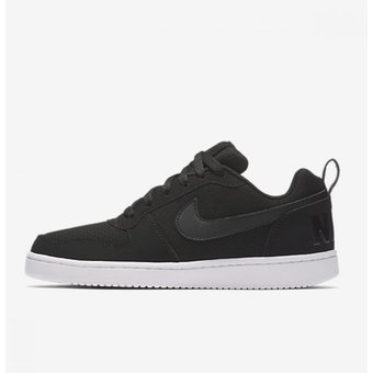 Compra Zapatilla Nike Court Borough Low Unisex - Negro online ... f414ad85c7cad
