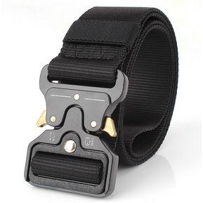 d5b45b75305 Cinturón Multifuncional De Color Solido Para Hombre - Negro