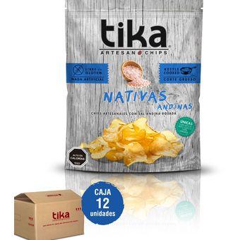 G 180 Andinas Chips Caja Nativas Tika N80ymOvnw