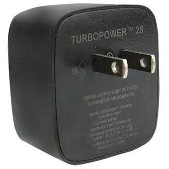 fe3220c7572 Cargador Turbo Power Charger Carga Rapida Motorola MICRO USB V8 15 WATTS