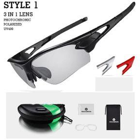b1de7bbe4e Gafas deportivas fotocromaticas, polarizadas UV 400 Rockbros