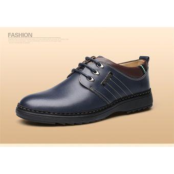 Compra Zapatos Con Thinker Azul E Hombre Y Dibujo Para Oxford De mbvI6gy7Yf