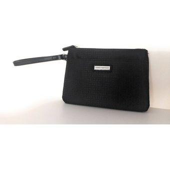 ofertas exclusivas varios diseños marcas reconocidas Monedero Neceser Cartera Mujer Tommy Hilfiger - Negro
