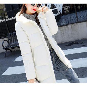 367f9e86 Abrigos De Moda Fresca Para Mujer Blanco