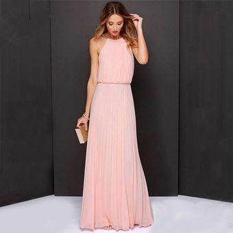 Agotado 2017 nuevo Casual Summer sexy Maxi mujeres vestido de fiesta vestido  de noche vestido vintage Long 523190f84539