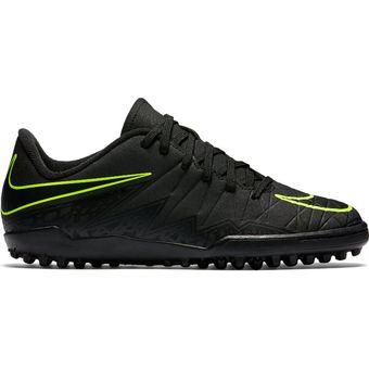 new concept 49c37 d539e Agotado Zapatos Fútbol Niño Nike Jr Hypervenom Phelon II TF-Negro